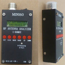 Mini60 HF ANT SWR Antenna Analyzer Meter SARK100 AD9851 For Ham Radio Hobbists