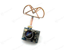 5.8Ghz 25mW Mini Kamera 520TVL + Video Sender 32CH Cloverleaf Antenne Camera FPV