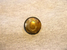 Non Dug Confederate Cavalry Coat Button