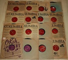 16 x 78rpm LES BROWN Orchestra+Band Of Renown 1941 Okeh 1948 Columbia DORIS DAY