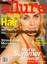 Allure 7/14,Taylor Schilling,July 2014,NEW