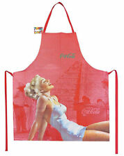 Coca Cola Vintage Pinup Apron ~ Rockabilly Advertising 50s 40s Retro Kitchen