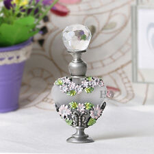 Handmade Vintage Empty Butterfly Crystal Metal Perfume Bottle Wedding Gifts 8ml