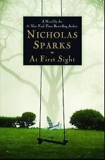 At First Sight by Nicholas Sparks (2005, Hardcover)