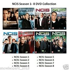 NCIS COMPLETE SERIES 1 2 3 4 5 6 7 8 DVD Set Collection All Episodes Season Box