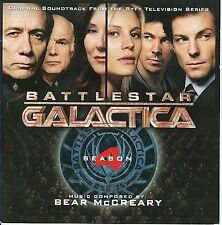 BATTLESTAR GALACTICA SEASON FOUR 4 SOUNDTRACK 2 CD SET OST SCI FI MCCREARY TV