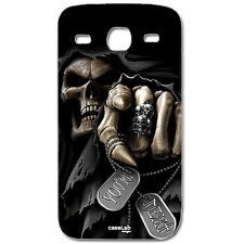 COVER CASE PROTETTIVA MORTE TARGHETTE PER SAMSUNG GALAXY GRAND NEO PLUS i9060i