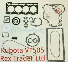 Kubota V1505 gasket kit complete (Top and Bottom ) with metal sheet gasket