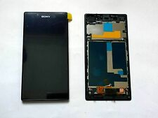 Original LCD Display Touch Screen Digitizer +Frame for Sony Xperia Z1 L39h C6903