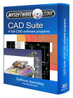 PRO CAD SOFTWARE PRODUCT - 4 PROGRAMS FOR PC 2D 3D MODELING ARCHITECT DESIGN NEW