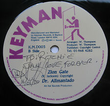 "CLASSIC ROOTS Dr Alimantado Zion Gate UK Keyman 12"" YABBY YOU Listen SIGNED COPY"