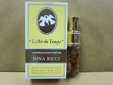 Nina Ricci L'Air du Temps 7.5 ml 0.25 oz parfum perfume May21A