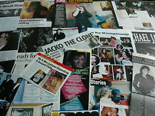 MICHAEL JACKSON - MAGAZINE CUTTINGS COLLECTION (REF Z16)