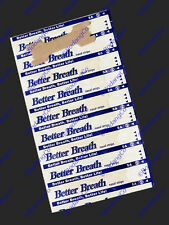 60 NASAL STRIPS (MEDIUM/SMALL) Breathe Better & Reduce Snoring Right Now (50+10)