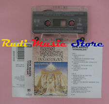 MC IRON MAIDEN Powerslave 1984 italy EMI 54 2402004 cd lp dvd vhs