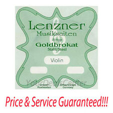 Lenzner Goldbrokat Violin E String 4/4 Ball Medium