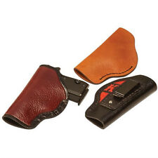 CONCEALED BULLSEYE  LEATHER  HOLSTER KIT FOR SMALL AUTOMATICS