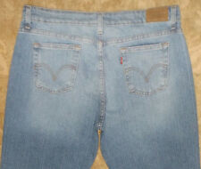 515 Levis Womens Boot Cut Blue Jeans Pants Sz 16M ( 35 X 29 .5 ) #3952