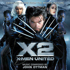 X2 Xmen United - 2 x CD Complete Score - Limited 3500 - John Ottman