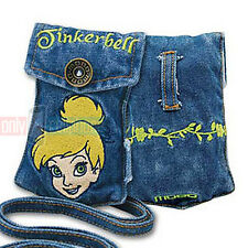 Disney Embroidered TINKERBELL Universal Jean Pouch Case for iPhone 5s 5 4 iPods