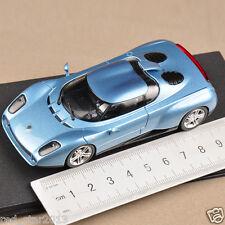 1:43 Scale Blue Lamborghini raptor Zagato(1996) Diecast MiniCar Model Collection