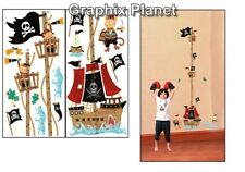KIDS GROWTH CHART HEIGHT MEASURE WALL STICKERS CHILDREN BEDROOM DECOR DECAL PP