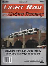 LIGHT RAIL AND MODERN TRAMWAY MAGAZINE - January 1995 - Vol. 58 - No. 685