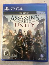 Assassin's Creed: Unity - Sony Playstation 4 Game - Complete USED SEALED