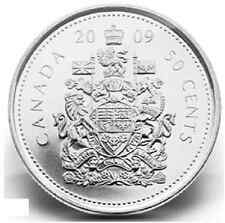 2009 Canadian 50 Cent Circulation Coin ($0.50)