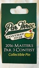 2016 Masters PAR 3 COMMEMORATIVE COLLECTIBLE Pin - flag - Only Sold Wednesday!