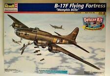 Revell Monogram Lg 1:48 Scale Boeing B-17F Flying Fortress Memphis Belle Plane