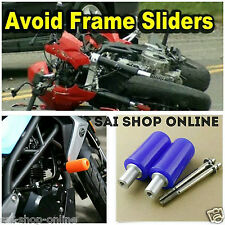 Universal Motorcycle Frame Slider Crash Protector 10mm For Yamaha Honda Ninja