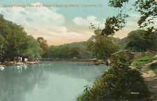 Lancaster PA * Rocky Springs Park Peoples Bathing Resort 1910