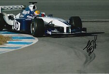 Ho-Pin Tung Hand Signed 12x8 Photo Williams F1 2.