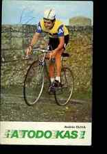 ANDRES OLIVA Team KAS Signed Autographe cycling Signé cyclisme spain champion