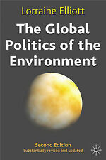 The Global Politics of the Environment, Elliott, Lorraine, New Book