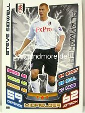 Match Attax 2012/13 Premier League - #088 Steve Sidwell - Fulham
