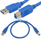 0.5m 1.5ft USB 3.0 A Male To B Male Plug Extension High speed premium Cable Cord