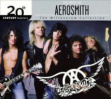 THE BEST OF AEROSMITH CD THE MILLENNIUM COLLECTION BRAND NEW SEALED
