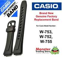 REPLACEMENT CASIO WATCH BAND ORIGINAL WOULD FIT: W-753, W-752,W-755