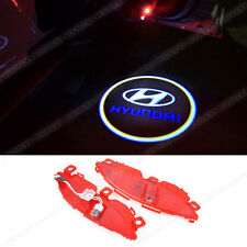 2x Ghost Shadow LED Door Step Welcome Projector Laser Light for Hyundai SANTAFE