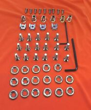51 Piece Audi TT Mk.1 Stainless Steel Countersunk Engine Bay Cover Fastener Kit