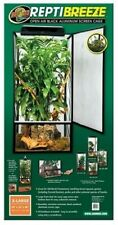 ReptiBreeze Open Air Screen Cage. Reptile Lizard Chameleons Enclosure 24x24x48