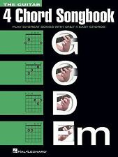 The Guitar Four-Chord Songbook G-C-D-Em : Melody/Lyrics/Chords (2015, Paperback)