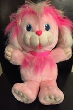 1991 CuddleBrites Rosyshine Pink Fiber Optic Plush Dreamworks Cuddle HTF As Is