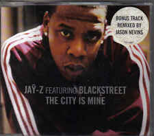 Jay-Z feat Blackstreet-The City Is Mine cd maxi single 5 tracks