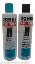DOO GRO MEGA THICK Shampoo & Conditioner Anti Thinning Formula