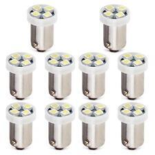 10pcs 0.2W 1156 BA9S 4 LEDs SMD3528 Ampoule Lampe Feux Blanc DC 12V Automobile