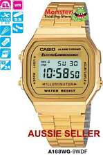 AUSSIE SELLER CASIO WATCH RETRO VINTAGE A168WG-9 A168WG A168 A158 A158WA