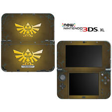 The Legend of Zelda Triforce Logo for New Nintendo 3DS XL Skin Decal Cover